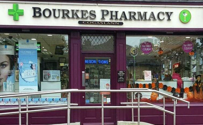 Bourkes Pharmacy Iona Park Mayfield Cork
